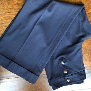 Express wide leg sailor pants. Navy